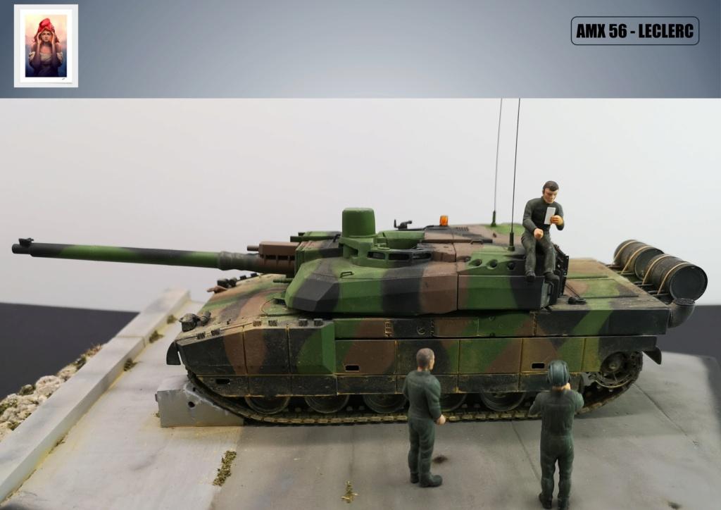 AMX 56 - LECLERC - HELLER 1/35 - FINI PAGE 7 - Page 7 Amx56226