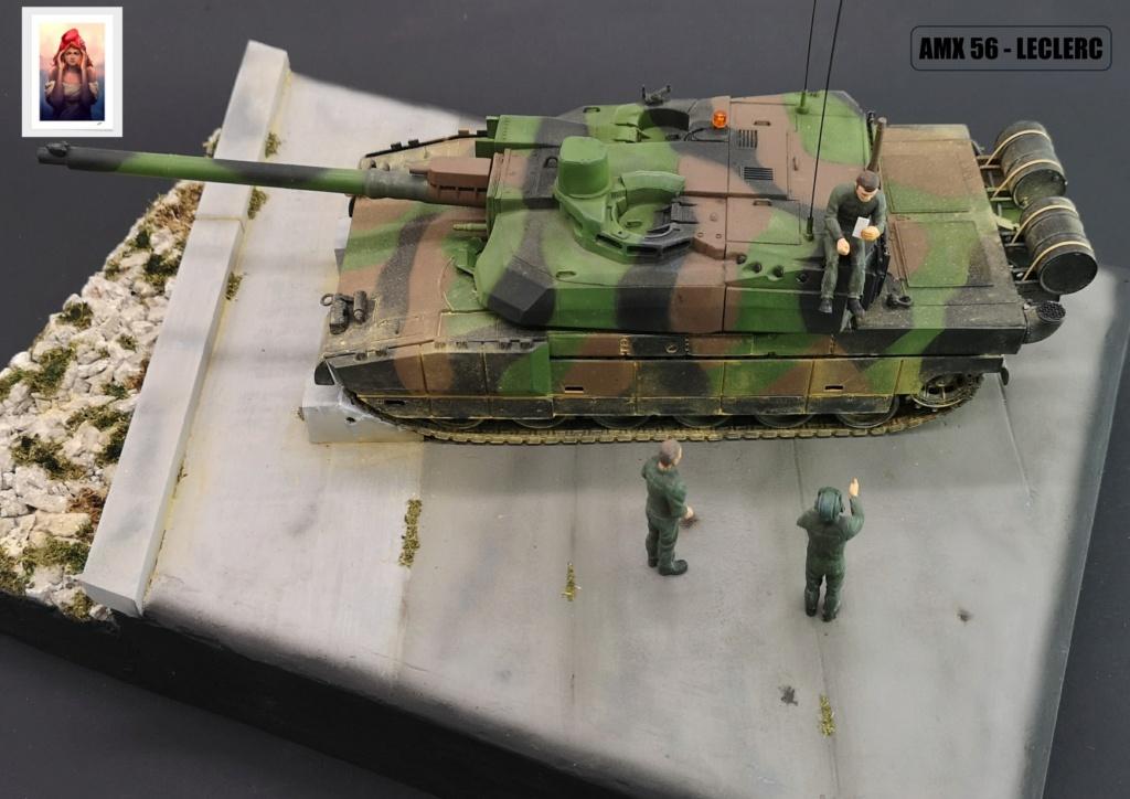 AMX 56 - LECLERC - HELLER 1/35 - FINI PAGE 7 - Page 7 Amx56227