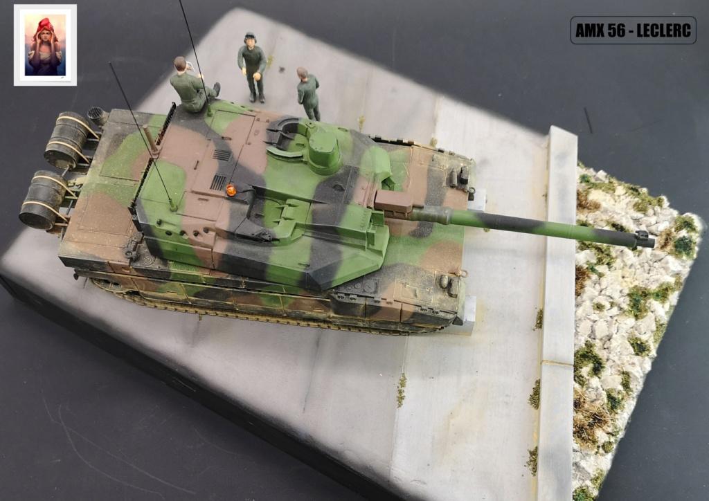 AMX 56 - LECLERC - HELLER 1/35 - FINI PAGE 7 - Page 7 Amx56228