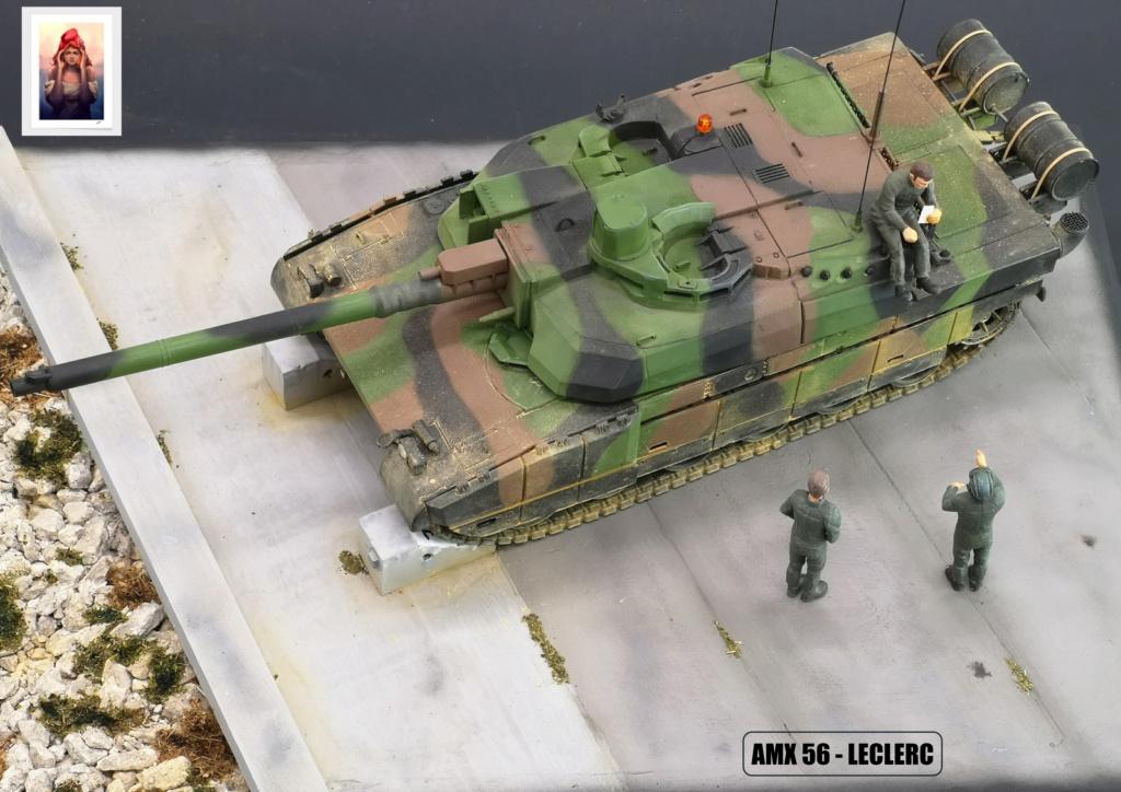 AMX 56 - LECLERC - HELLER 1/35 - FINI PAGE 7 - Page 7 Amx56229