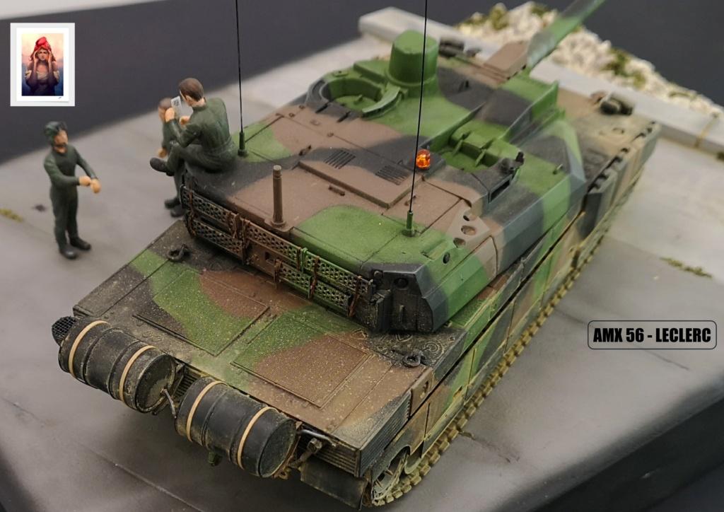 AMX 56 - LECLERC - HELLER 1/35 - FINI PAGE 7 - Page 7 Amx56230