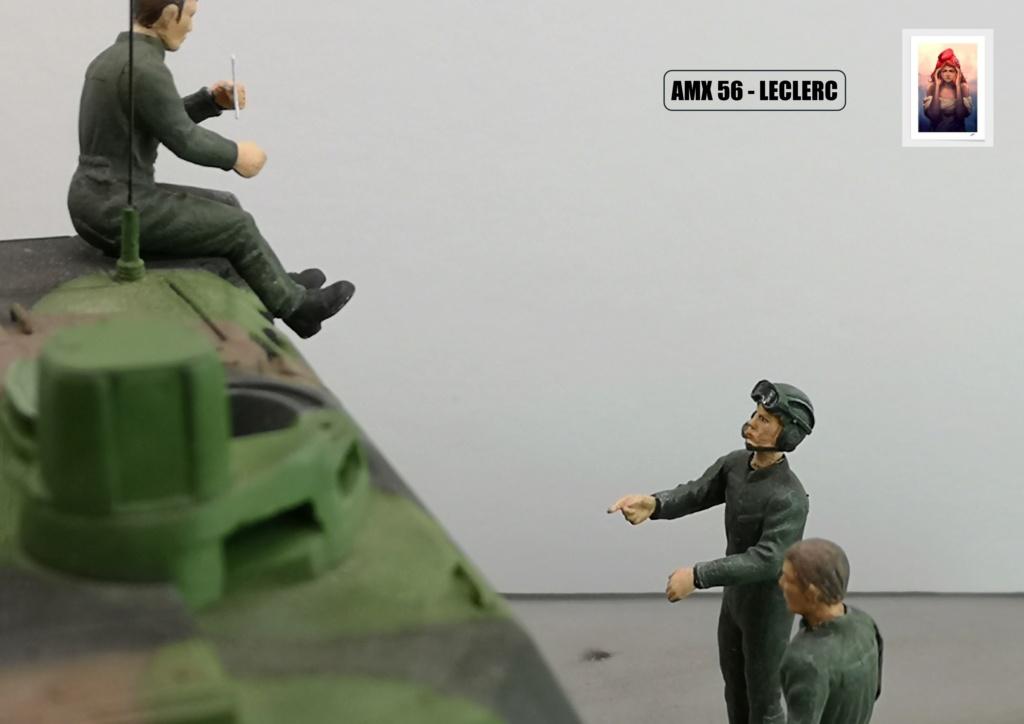 AMX 56 - LECLERC - HELLER 1/35 - FINI PAGE 7 - Page 7 Amx56231