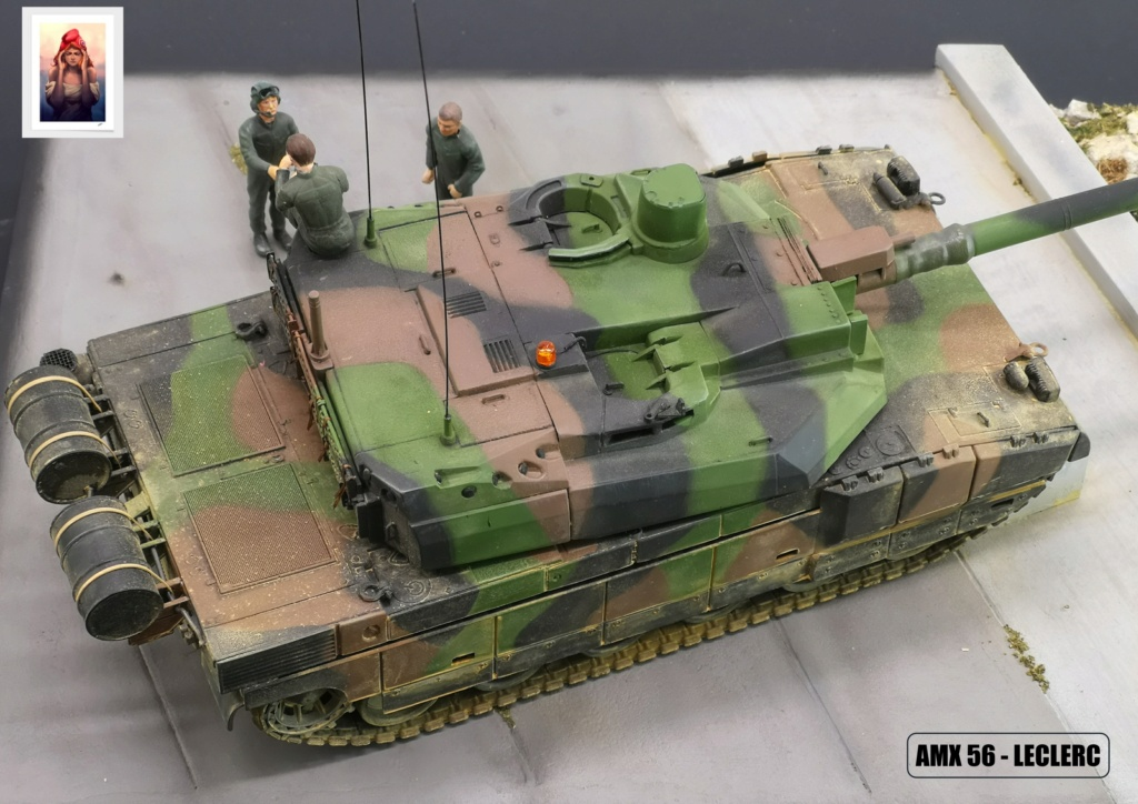 AMX 56 - LECLERC - HELLER 1/35 - FINI PAGE 7 - Page 7 Amx56232