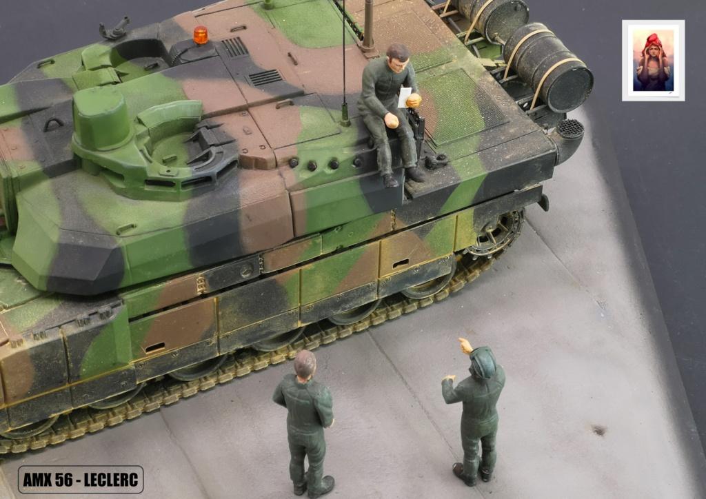 AMX 56 - LECLERC - HELLER 1/35 - FINI PAGE 7 - Page 7 Amx56233