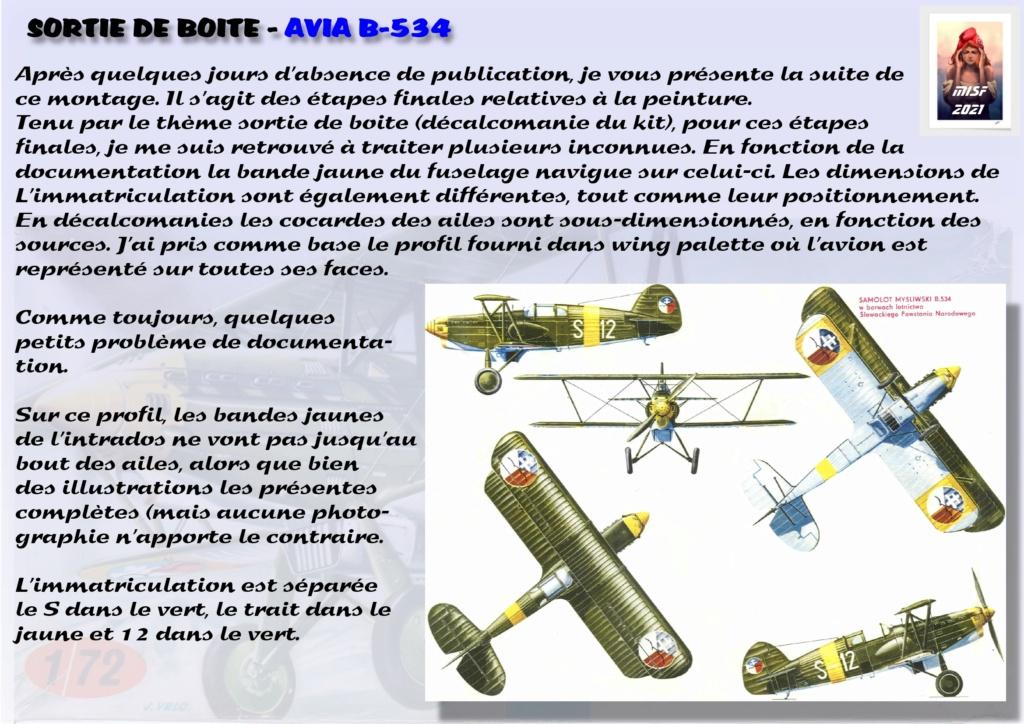 From the box - AVIA B-534 - KP - 1/72  - Page 3 Avia_050