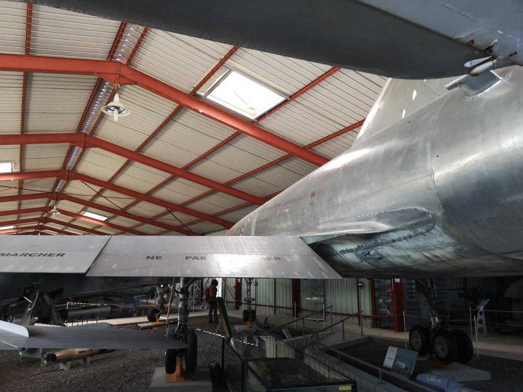 PHOTOSCOPE DASSAULT MIRAGE IV A - MUSEE DE L AVIATION MONTELIMAR (26) -05/08/2020 Avion_38