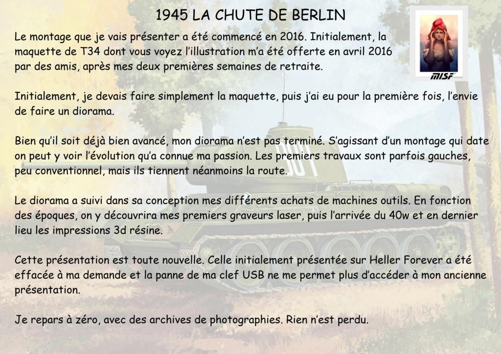 """1945 LA CHUTE DE BERLIN""  - T34 ACADEMY - JEEP ITALERI - FIGURINES TAMIYA 1/35  Cdb_0011"
