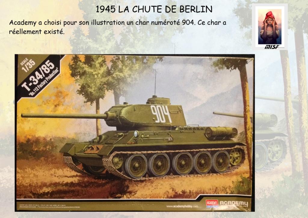 """1945 LA CHUTE DE BERLIN""  - T34 ACADEMY - JEEP ITALERI - FIGURINES TAMIYA 1/35  Cdb_0012"