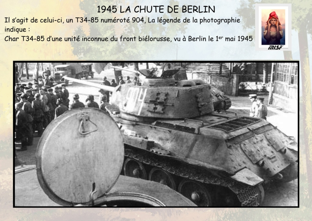 """1945 LA CHUTE DE BERLIN""  - T34 ACADEMY - JEEP ITALERI - FIGURINES TAMIYA 1/35  Cdb_0013"
