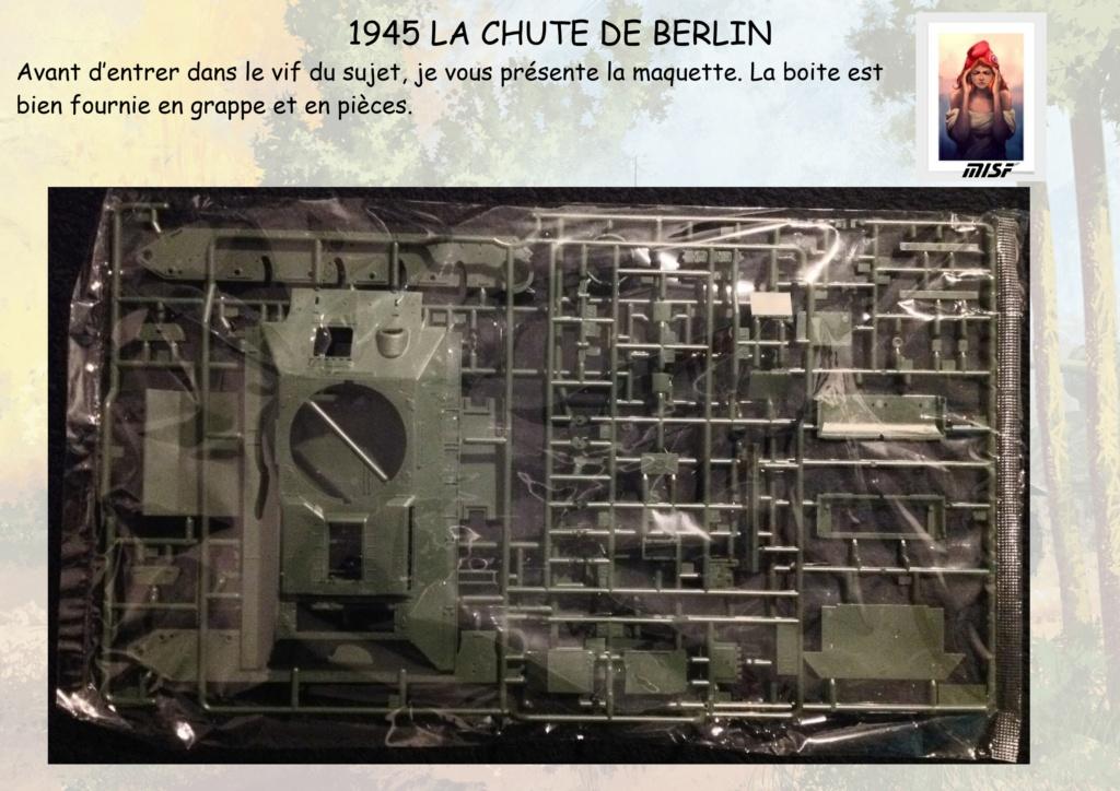 """1945 LA CHUTE DE BERLIN""  - T34 ACADEMY - JEEP ITALERI - FIGURINES TAMIYA 1/35  Cdb_0015"