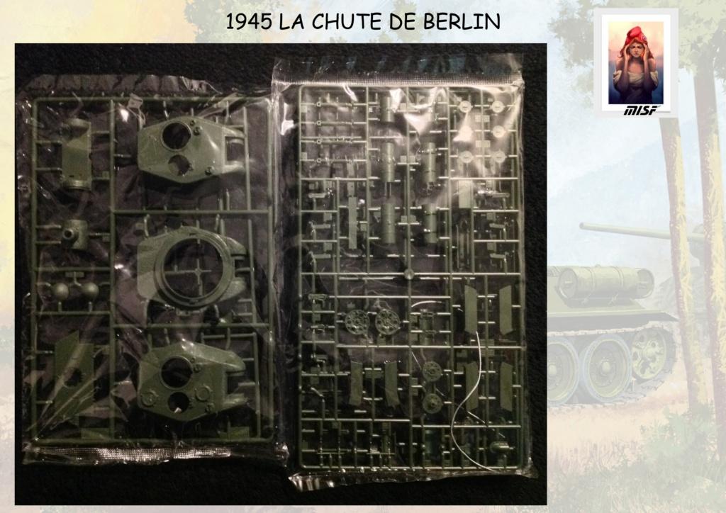 """1945 LA CHUTE DE BERLIN""  - T34 ACADEMY - JEEP ITALERI - FIGURINES TAMIYA 1/35  Cdb_0016"