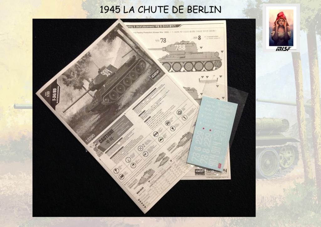 """1945 LA CHUTE DE BERLIN""  - T34 ACADEMY - JEEP ITALERI - FIGURINES TAMIYA 1/35  Cdb_0017"