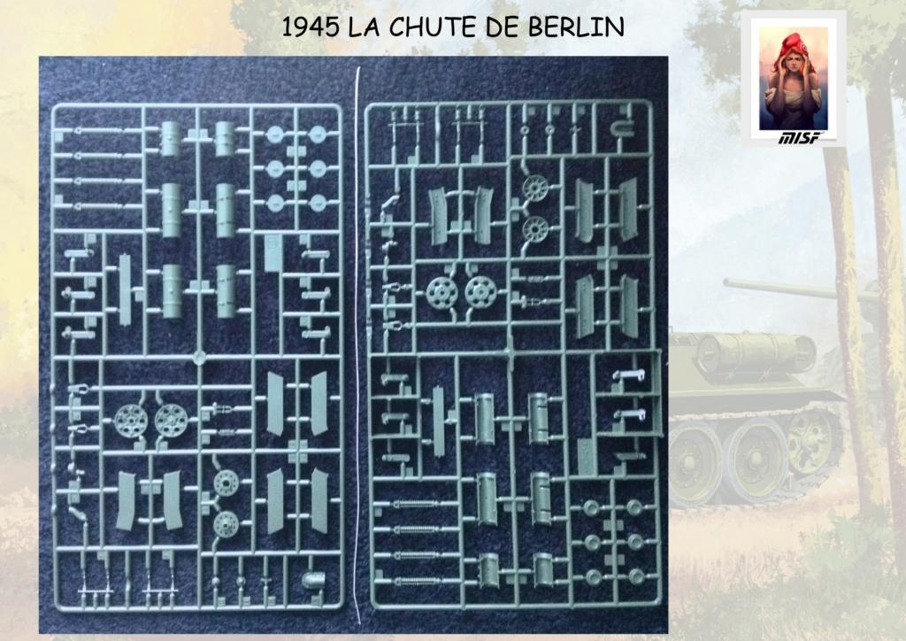 """1945 LA CHUTE DE BERLIN""  - T34 ACADEMY - JEEP ITALERI - FIGURINES TAMIYA 1/35  Cdb_0018"