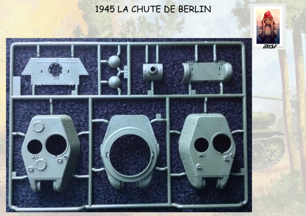 """1945 LA CHUTE DE BERLIN""  - T34 ACADEMY - JEEP ITALERI - FIGURINES TAMIYA 1/35  Cdb_0019"