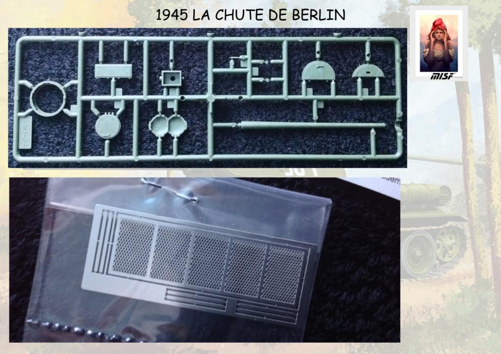 """1945 LA CHUTE DE BERLIN""  - T34 ACADEMY - JEEP ITALERI - FIGURINES TAMIYA 1/35  Cdb_0020"