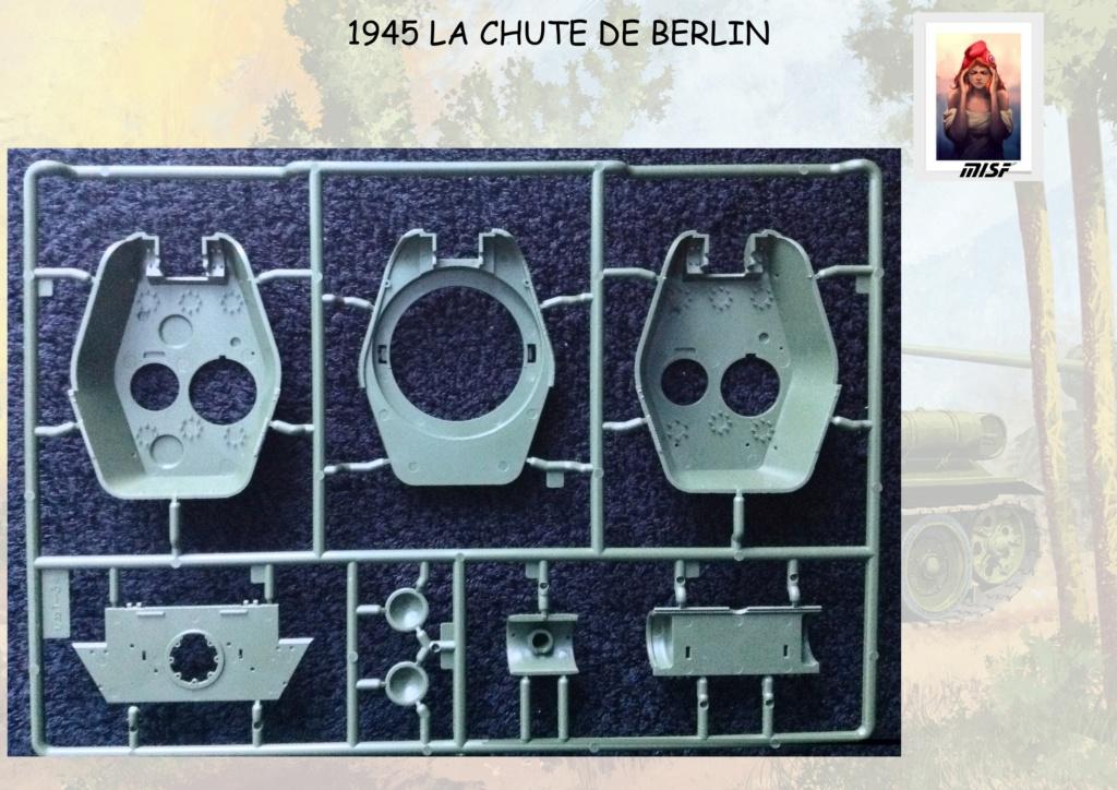 """1945 LA CHUTE DE BERLIN""  - T34 ACADEMY - JEEP ITALERI - FIGURINES TAMIYA 1/35  Cdb_0022"