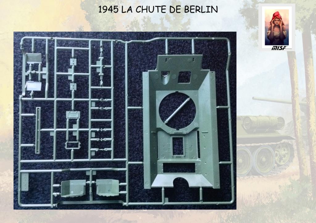 """1945 LA CHUTE DE BERLIN""  - T34 ACADEMY - JEEP ITALERI - FIGURINES TAMIYA 1/35  Cdb_0023"