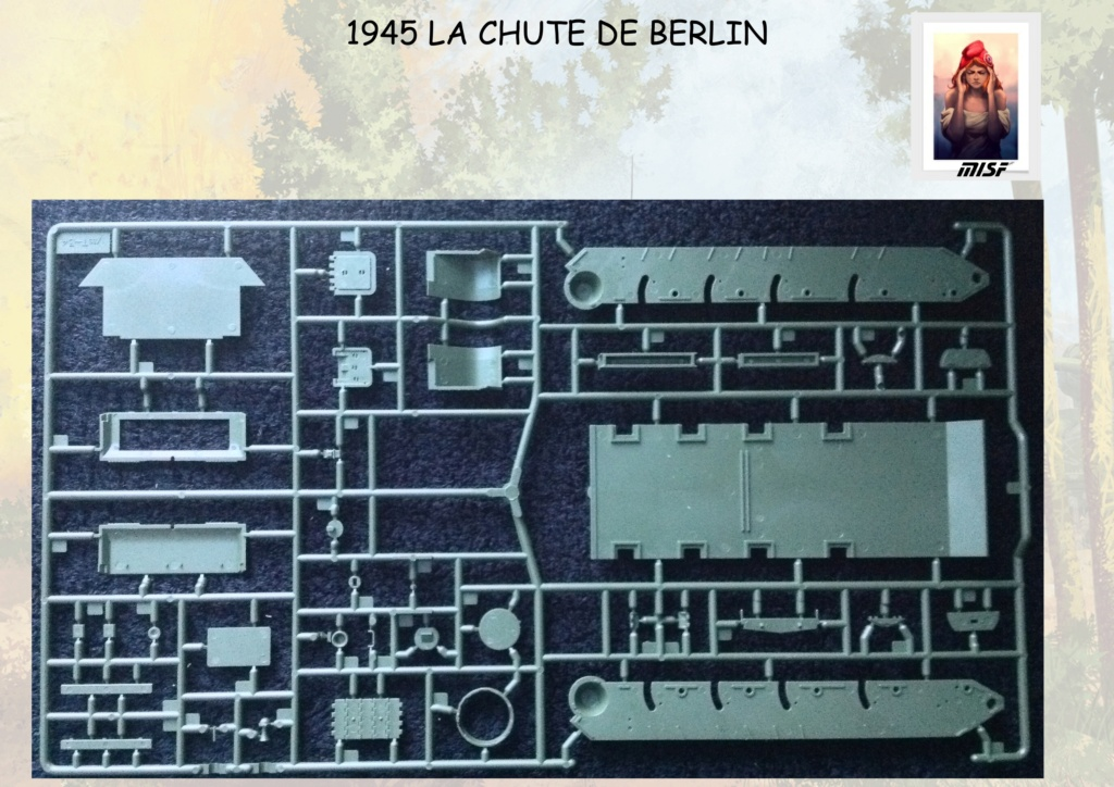 """1945 LA CHUTE DE BERLIN""  - T34 ACADEMY - JEEP ITALERI - FIGURINES TAMIYA 1/35  Cdb_0024"