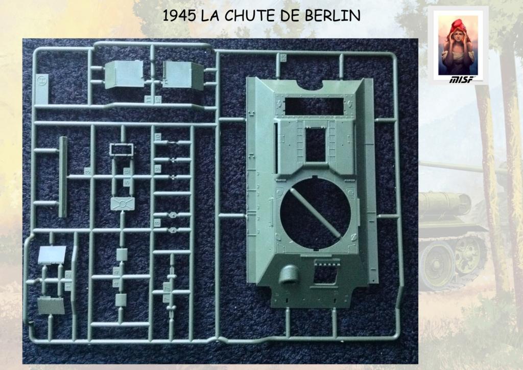 """1945 LA CHUTE DE BERLIN""  - T34 ACADEMY - JEEP ITALERI - FIGURINES TAMIYA 1/35  Cdb_0025"