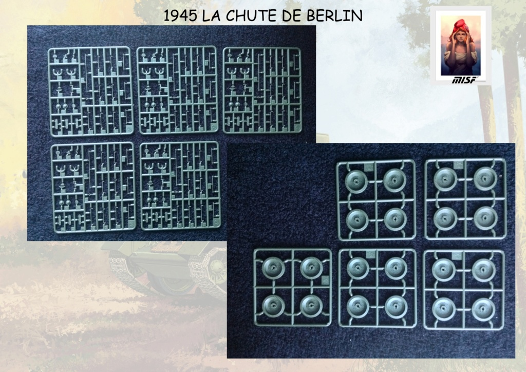"""1945 LA CHUTE DE BERLIN""  - T34 ACADEMY - JEEP ITALERI - FIGURINES TAMIYA 1/35  Cdb_0027"