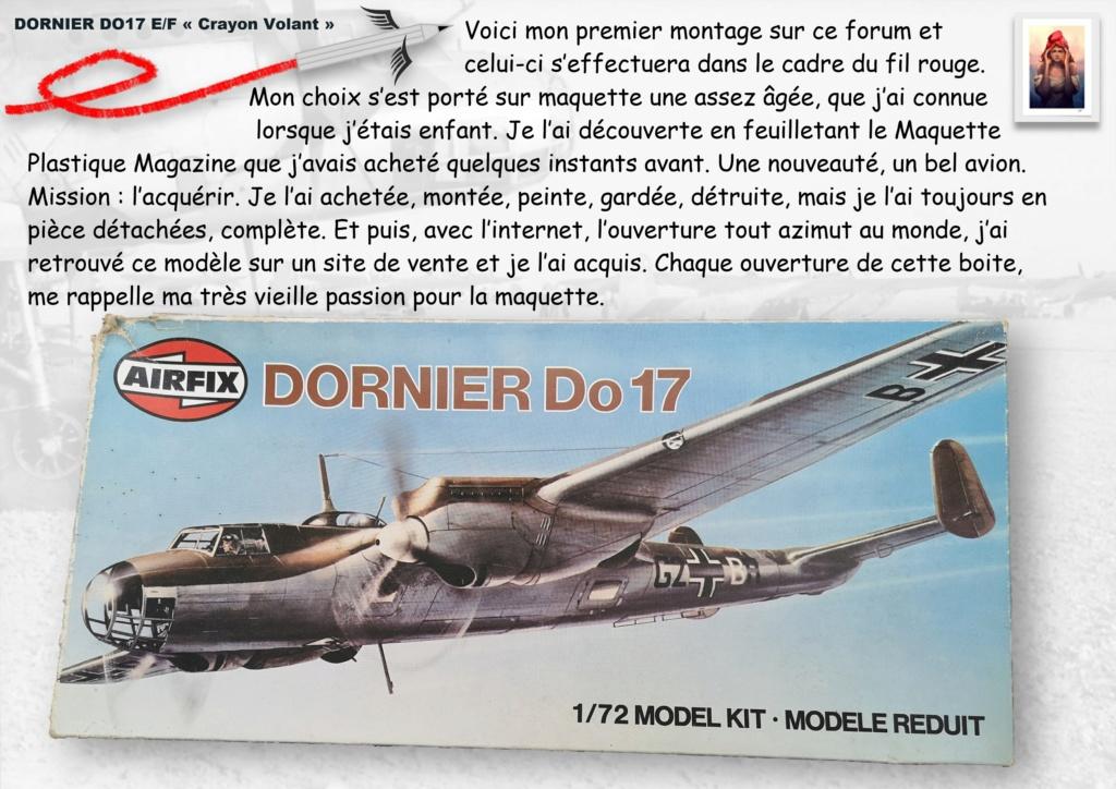 Fil rouge 2020 : [Airfix] Dornier DO17 E - 1/72 - Réf : 04014-1 Dornie11
