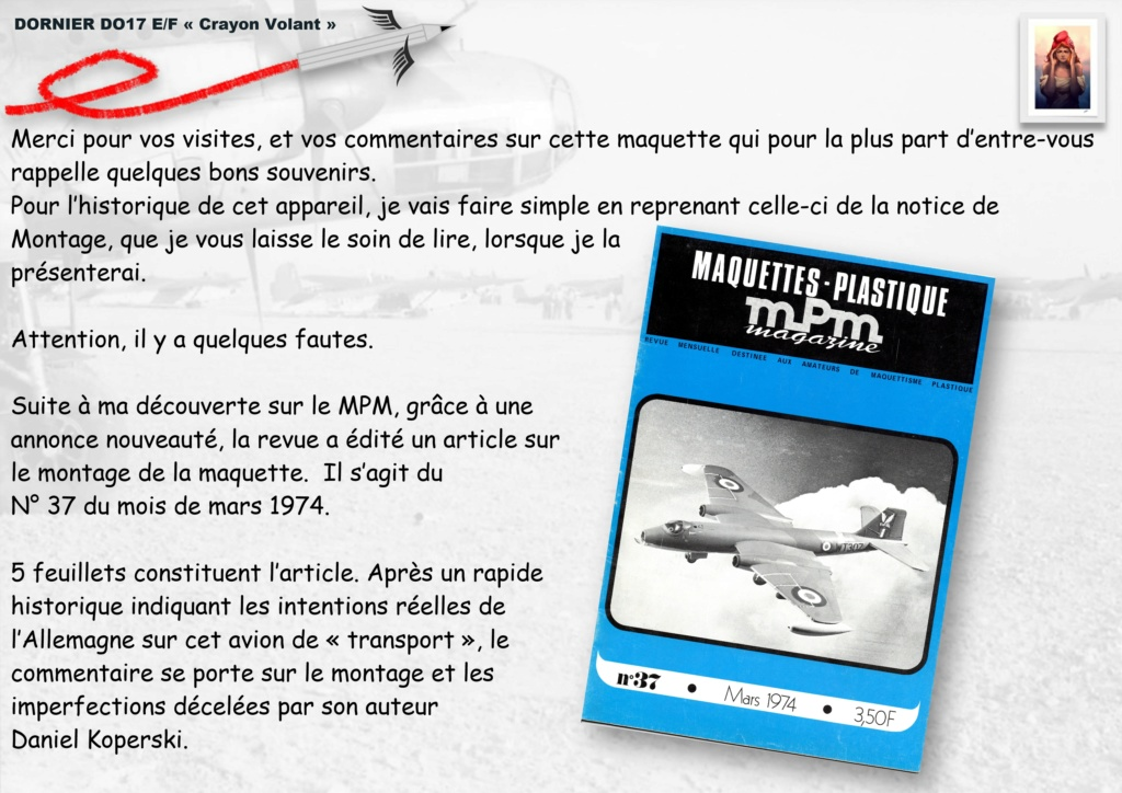 Fil rouge 2020 : [Airfix] Dornier DO17 E - 1/72 - Réf : 04014-1 Dornie16