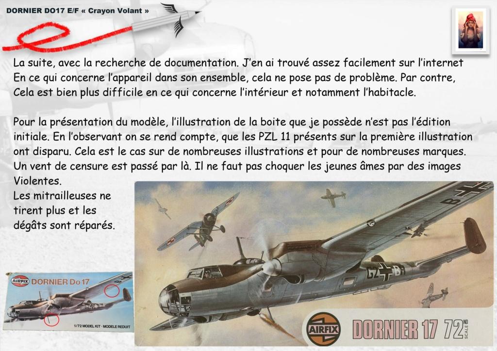 Fil rouge 2020 : [Airfix] Dornier DO17 E - 1/72 - Réf : 04014-1 Dornie17