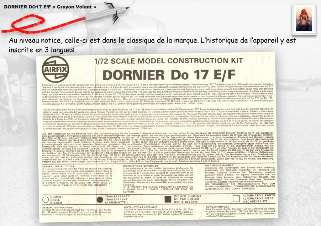 Fil rouge 2020 : [Airfix] Dornier DO17 E - 1/72 - Réf : 04014-1 Dornie19