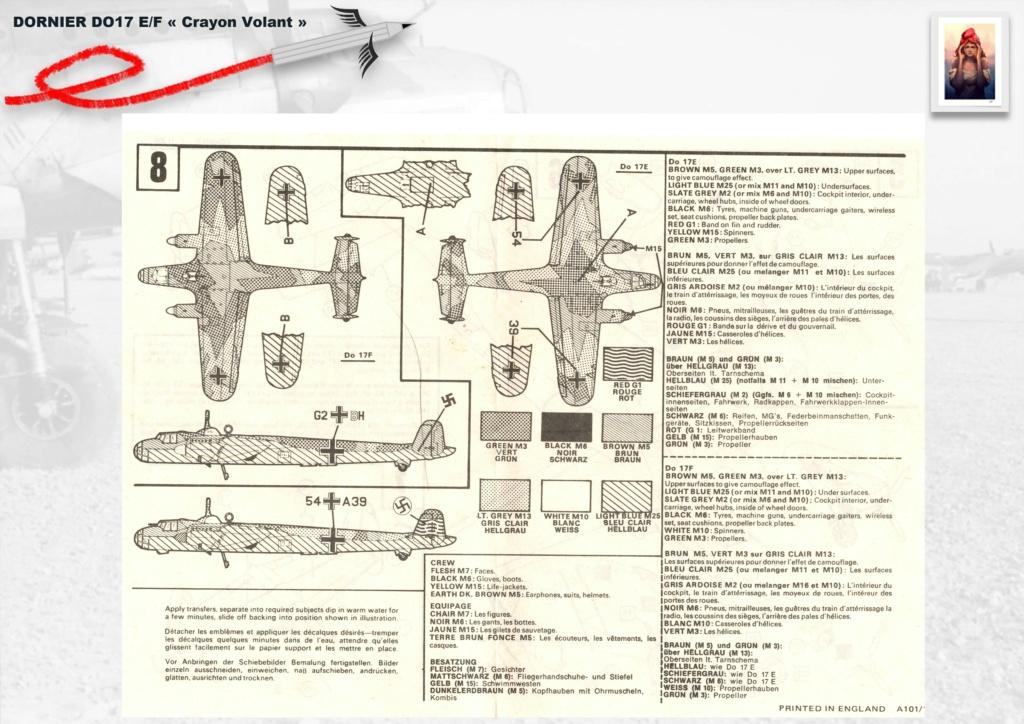 Fil rouge 2020 : [Airfix] Dornier DO17 E - 1/72 - Réf : 04014-1 Dornie22