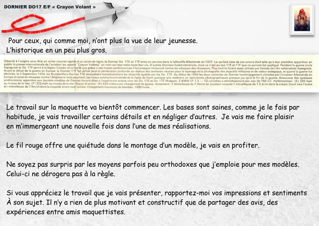 Fil rouge 2020 : [Airfix] Dornier DO17 E - 1/72 - Réf : 04014-1 Dornie24