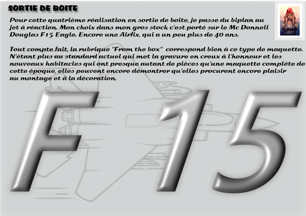 From the box - MC DONNELL DOUGLAS F15 EAGLE - AIRFIX 1-72 *** Terminé en pg 5 F15_0010