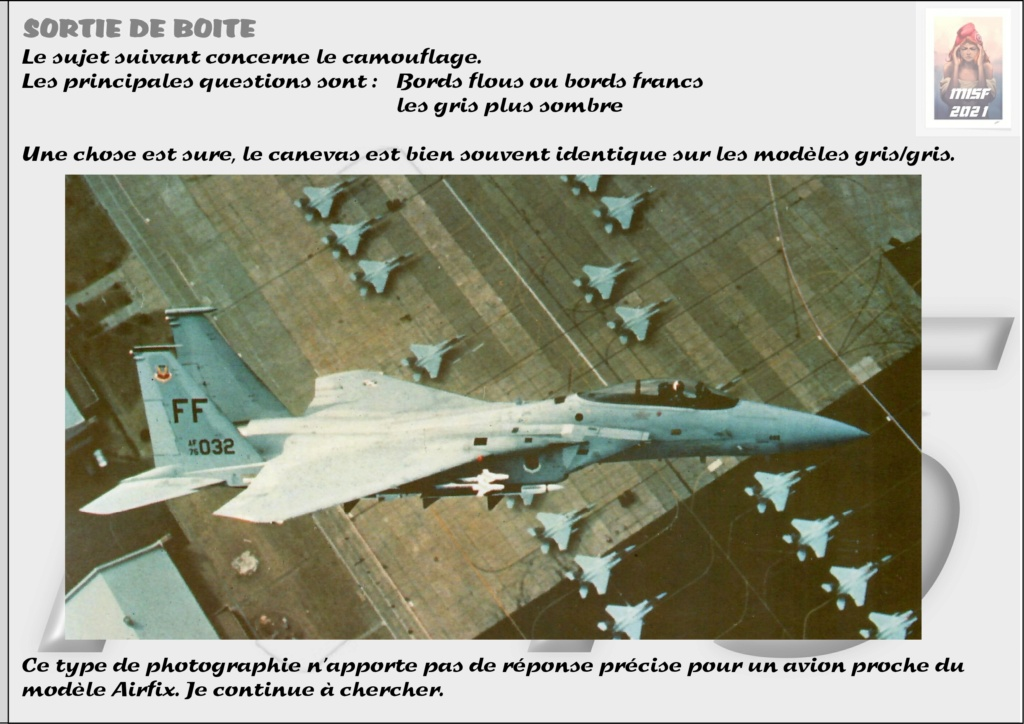 From the box - MC DONNELL DOUGLAS F15 EAGLE - AIRFIX 1-72 *** Terminé en pg 5 - Page 3 F15_0036