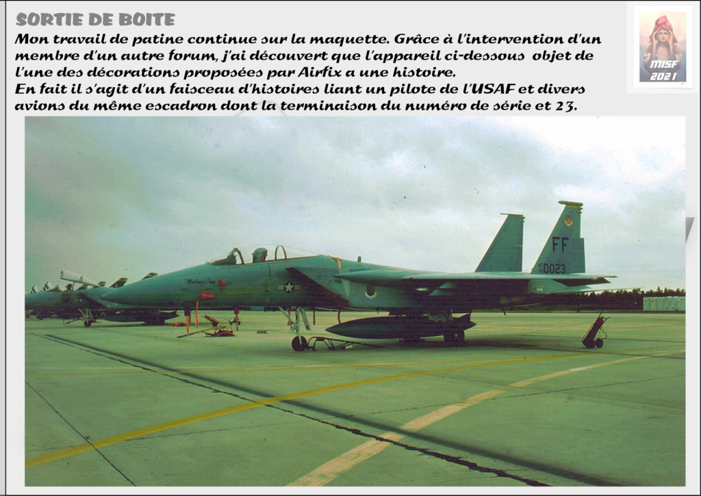 From the box - MC DONNELL DOUGLAS F15 EAGLE - AIRFIX 1-72 *** Terminé en pg 5 - Page 4 F15_0047