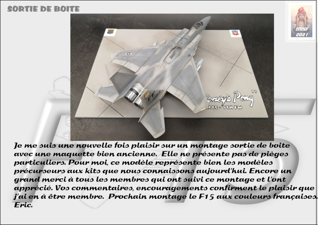 From the box - MC DONNELL DOUGLAS F15 EAGLE - AIRFIX 1-72 *** Terminé en pg 5 - Page 5 F15_0069