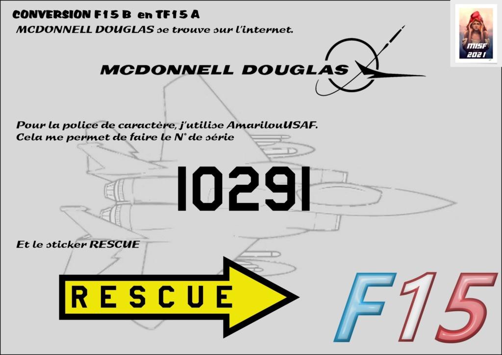 MCDONNELL DOUGLAS TF15-A (CONVERSION F15 B HELLER) 1/72 F15_fr12