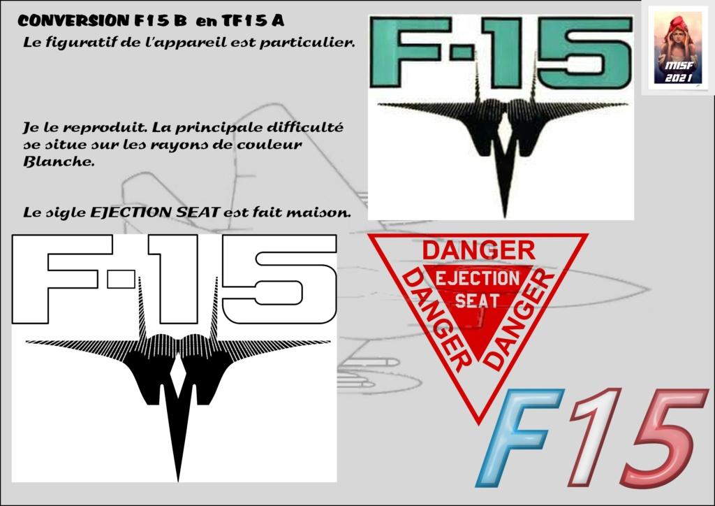 MCDONNELL DOUGLAS TF15-A (CONVERSION F15 B HELLER) 1/72 F15_fr15