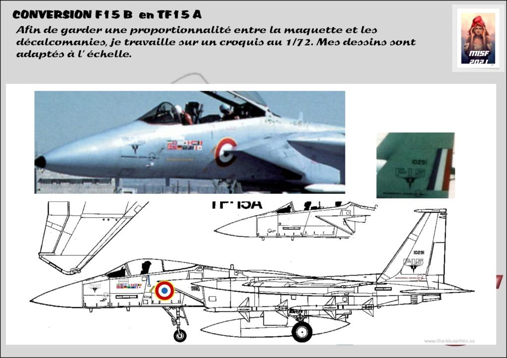MCDONNELL DOUGLAS TF15-A (CONVERSION F15 B HELLER) 1/72 F15_fr17