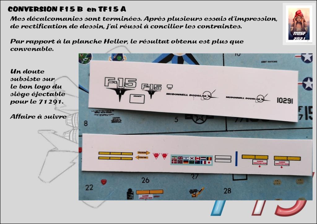 MCDONNELL DOUGLAS TF15-A (CONVERSION F15 B HELLER) 1/72 - Page 2 F15_fr19