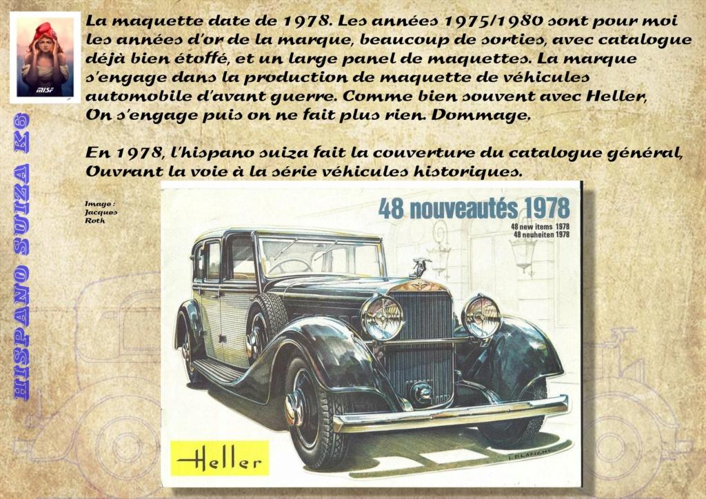 Fil rouge 2021 * Hispano Suiza K6 - Heller 1/24 - Réf : 80704 - Version film Yoyo - Page 2 Hisp_013