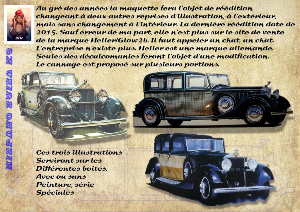 Fil rouge 2021 * Hispano Suiza K6 - Heller 1/24 - Réf : 80704 - Version film Yoyo - Page 2 Hisp_014