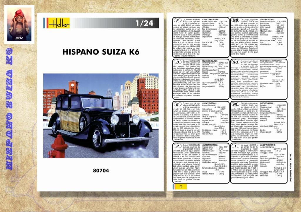 Fil rouge 2021 * Hispano Suiza K6 - Heller 1/24 - Réf : 80704 - Version film Yoyo - Page 2 Hisp_024