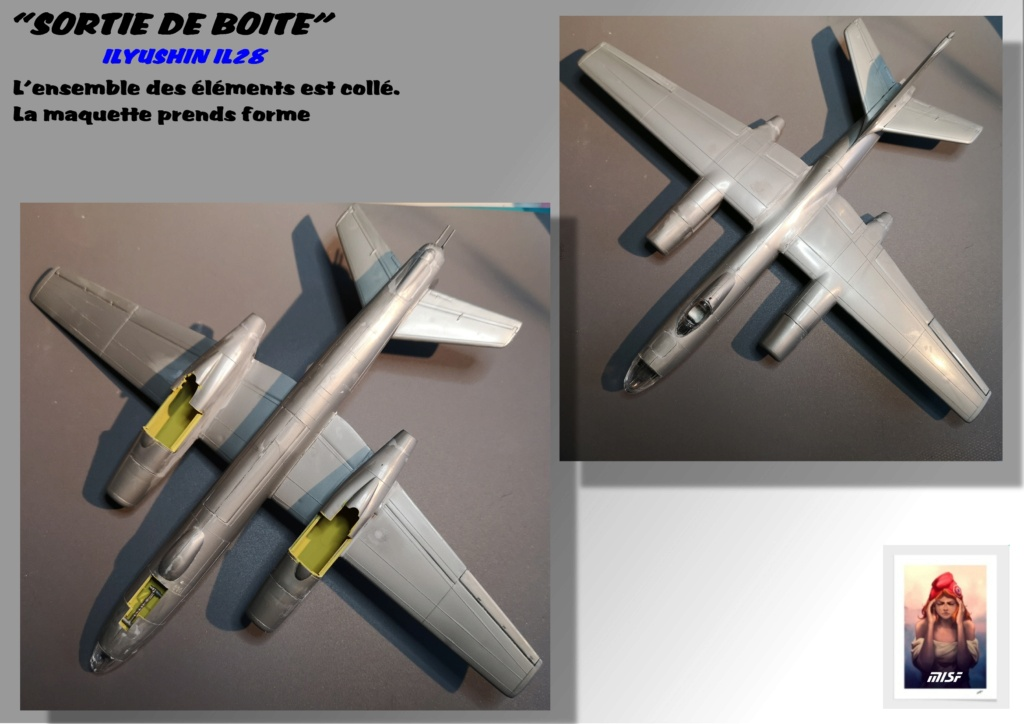 From the box - ILYUSHIN I.L.28 AIRFIX - 1/72 - REF : 490 *** Terminé en pg 3 - Page 2 Il28_026