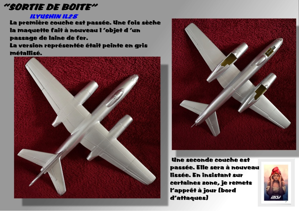 From the box - ILYUSHIN I.L.28 AIRFIX - 1/72 - REF : 490 *** Terminé en pg 3 - Page 2 Il28_030