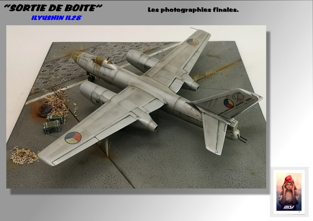 From the box - ILYUSHIN I.L.28 AIRFIX - 1/72 - REF : 490 *** Terminé en pg 3 - Page 4 Il28_045