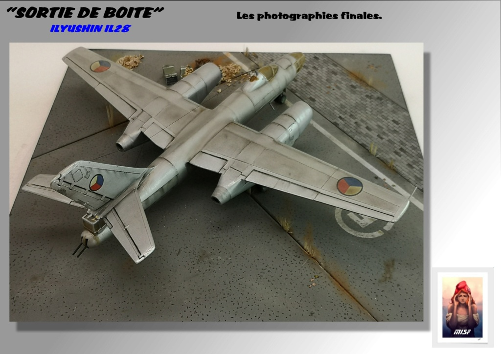 From the box - ILYUSHIN I.L.28 AIRFIX - 1/72 - REF : 490 *** Terminé en pg 3 - Page 4 Il28_046