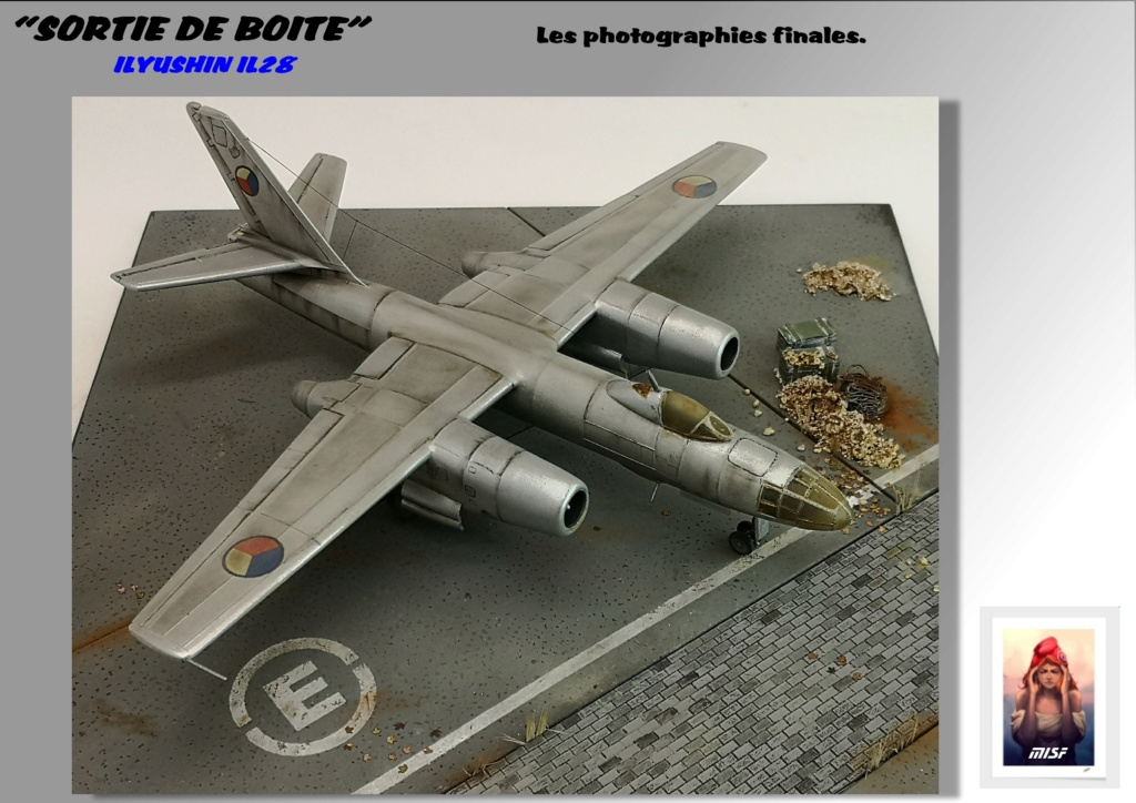 From the box - ILYUSHIN I.L.28 AIRFIX - 1/72 - REF : 490 *** Terminé en pg 3 - Page 4 Il28_047