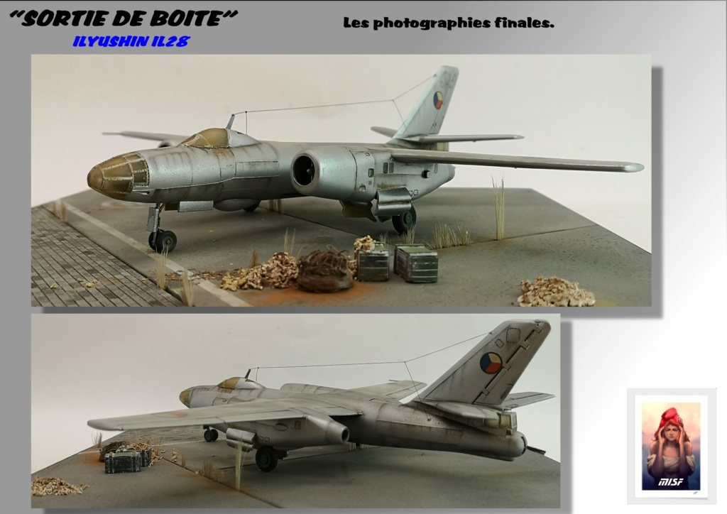 From the box - ILYUSHIN I.L.28 AIRFIX - 1/72 - REF : 490 *** Terminé en pg 3 - Page 4 Il28_049
