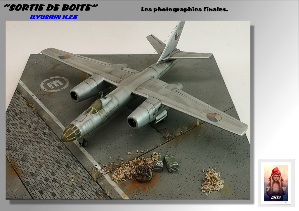 From the box - ILYUSHIN I.L.28 AIRFIX - 1/72 - REF : 490 *** Terminé en pg 3 - Page 3 Il28_050