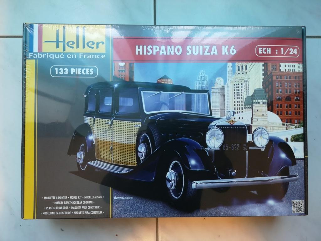 Fil rouge 2021 * Hispano Suiza K6 - Heller 1/24 - Réf : 80704 - Version film Yoyo Img_2257