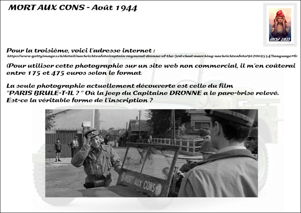 JEEP - 2EME DB - CAPITAINE DRONNE - MORT AUX CONS - ITALERI 1/35 Jeep_d11